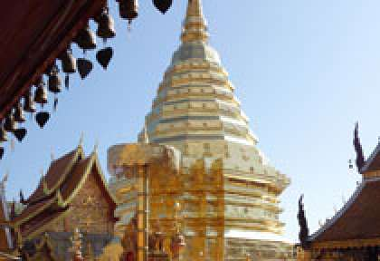 Visiter le temple du Doi Suthep © gitton