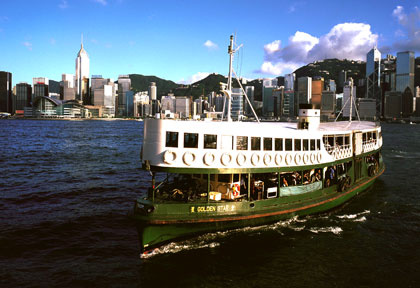 Star Ferry Hong Kong © HKTB
